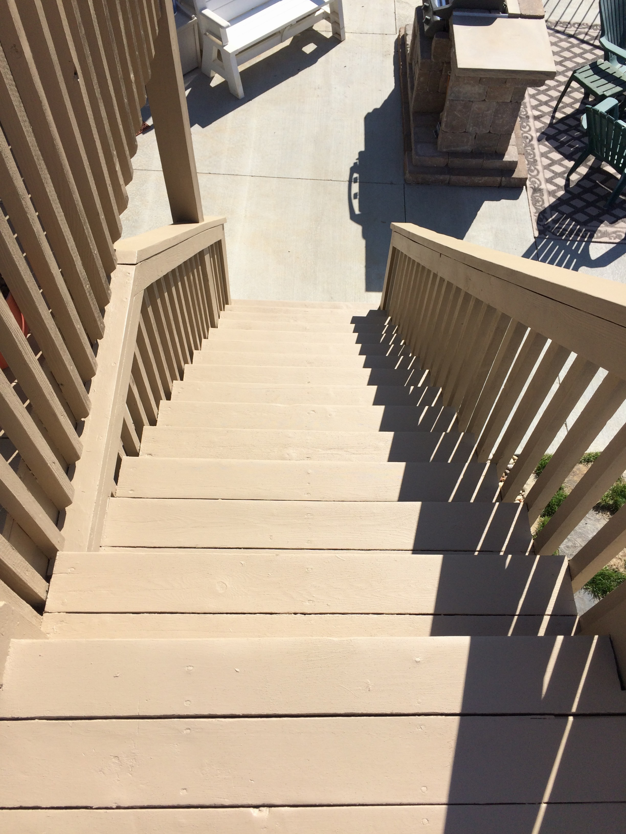 Ernhardt Deck Refinishing