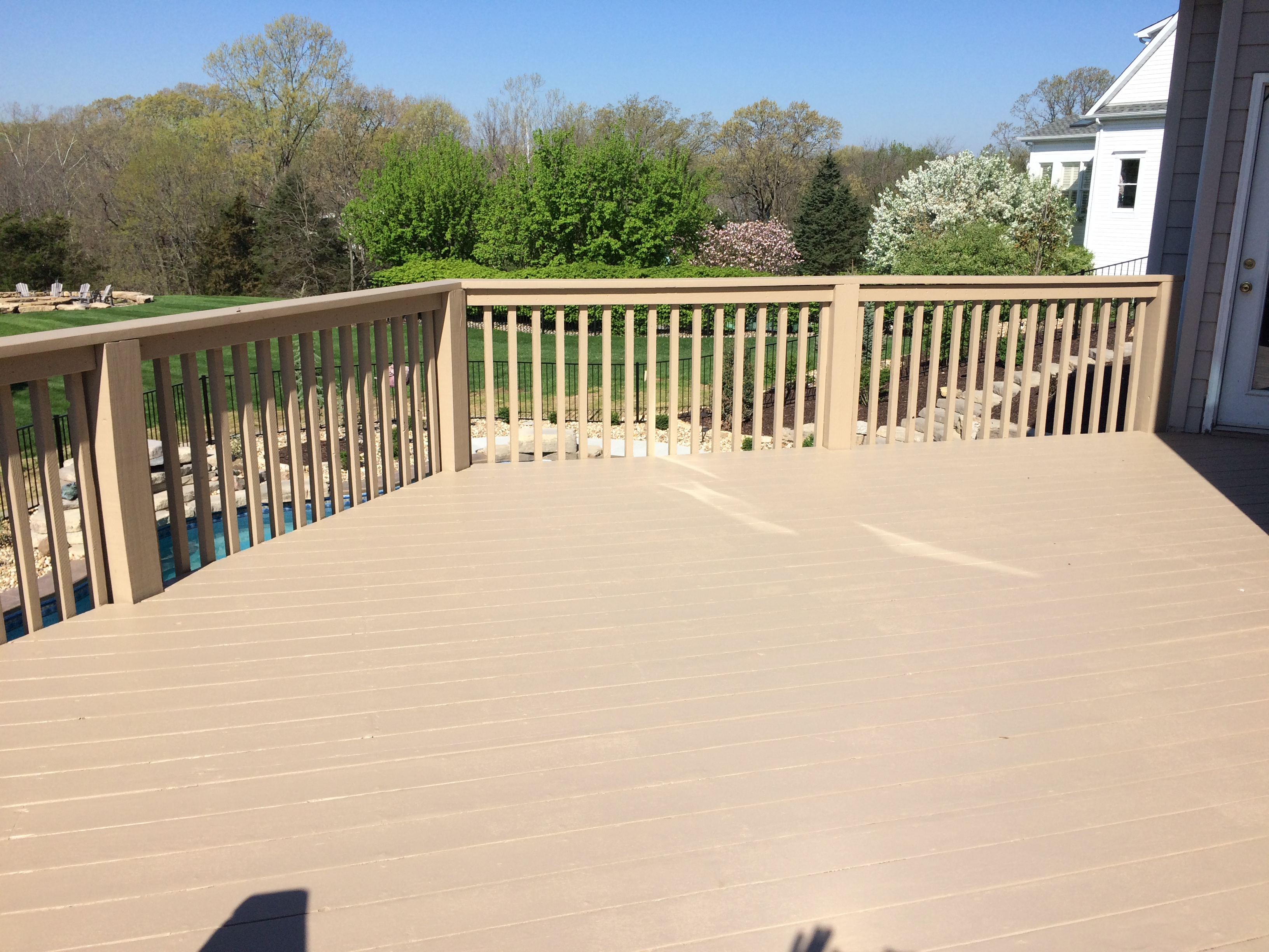 BEFORE/AFTER ERNHARDT DECK REFINISH