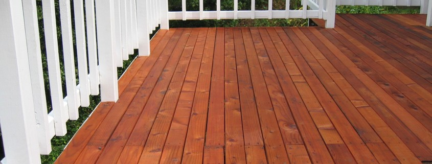 Deck Refinishing 101
